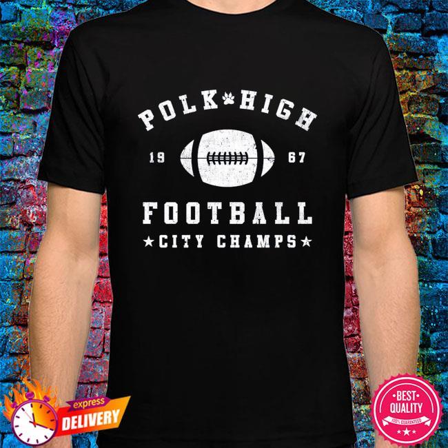 Polk high 1967 football city champs shirt