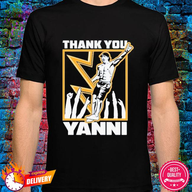 Tampa bay lightning thank you yanni shirt