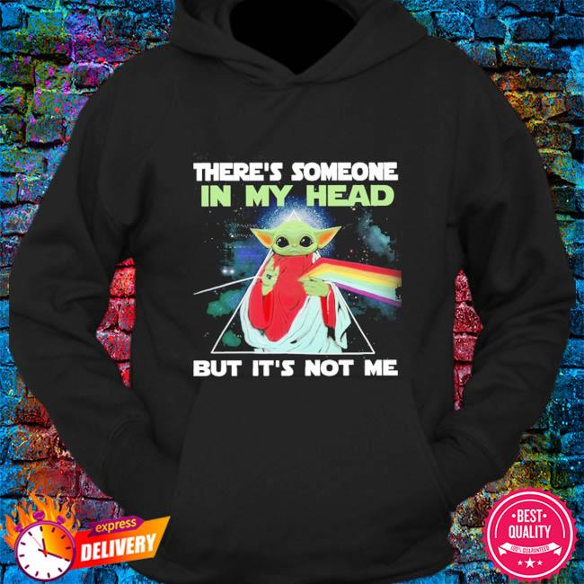 There's Someone In My Head But It's Not Me Baby Yoda Pink Floyd s hoodie